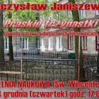 Mieczysław Janiszewski zaprasza